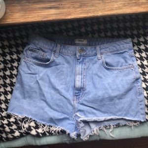 Jean high wasted shorts